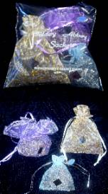 Lavender Bags made with island-grown lavender